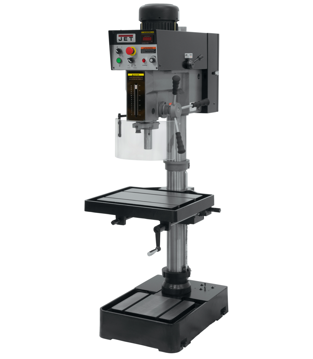Step Pulley & Variable Speed Drill Presses