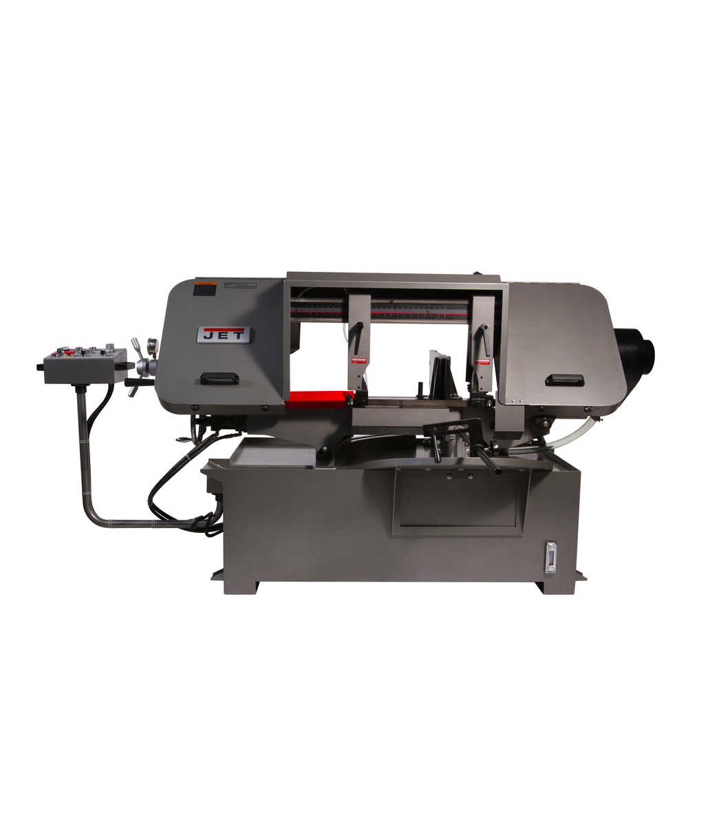 """HBS-1220MSAH, 12"""" x 20"""" Semi-Automatic Mitering Variable Speed Bandsaw with Hydraulic Vise"""