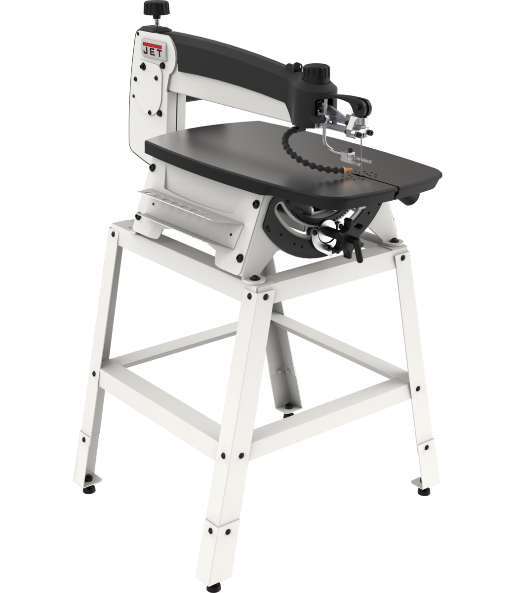 """JWSS-22 22"""" Scroll Saw with Stand and Foot Switch"""